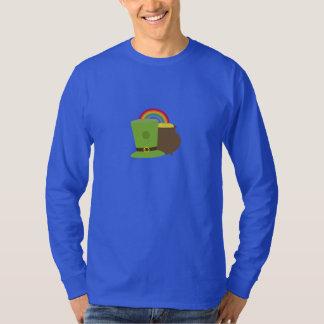rainbow gold and leprechaun T-Shirt