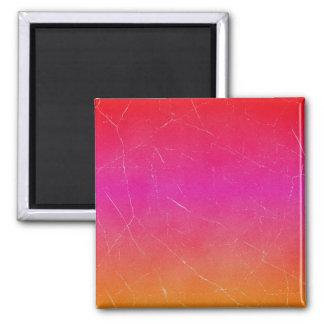 Rainbow Gradient Abstract Art Magnet
