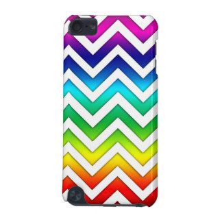 Rainbow Gradient Chevron iPod Touch 5G Case