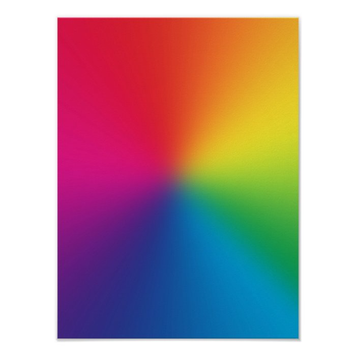 Customized Rainbows Template Poster