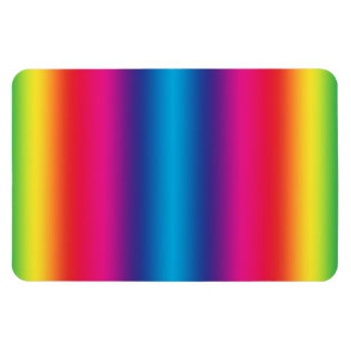 Rainbow Gradient - Customized Rainbows Template Rectangular Photo Magnet