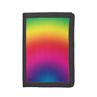 Rainbow Gradient - Customized Rainbows Template Trifold Wallets