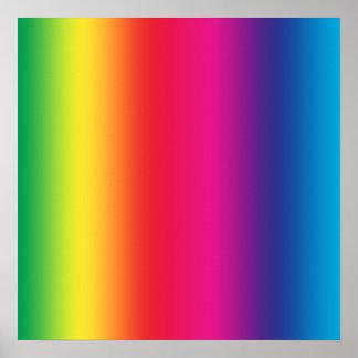 Rainbow Gradient Poster