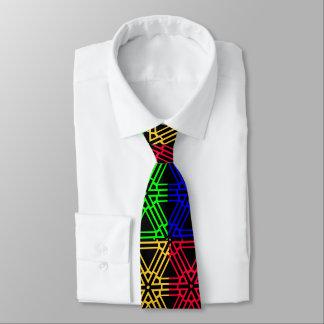 Rainbow Graphix I Neck Tie