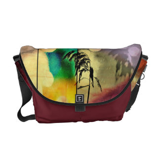 Rainbow Grass Drama Messenger Bag