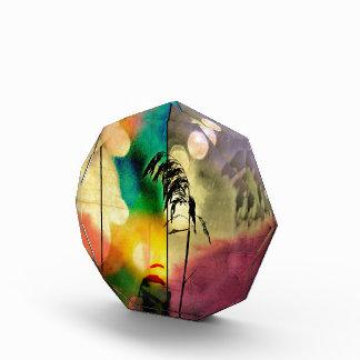 Rainbow Grass Drama Photo Block Acrylic Award