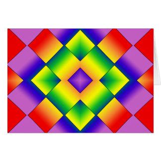 Rainbow Grid Cards