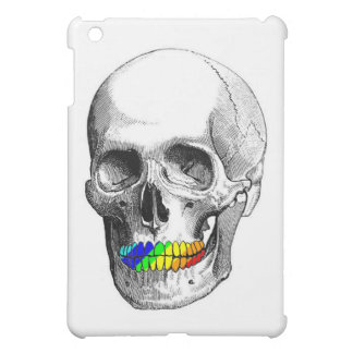 Rainbow Grill Skull Cover For The iPad Mini