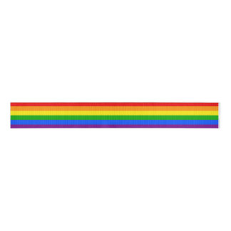 """RAINBOW"" GROSGRAIN RIBBON"