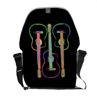 Rainbow Guitar Courier Bag