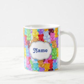 Rainbow Gummy Bear Personalized Mug
