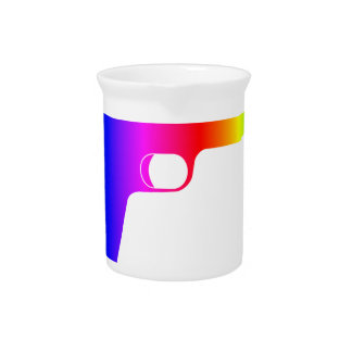 Rainbow Gun Drink Pitcher