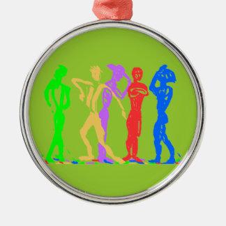 Rainbow Guys - Ornament