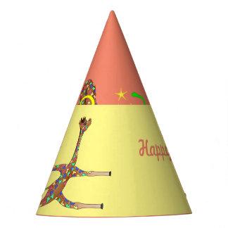 Rainbow Gymnastics by The Happy Juul Company Party Hat