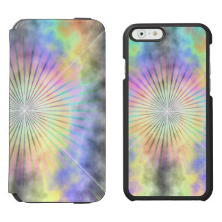 Rainbow Halo Star Burst iPhone 6/6s Wallet Case