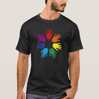 Rainbow hands T-Shirt