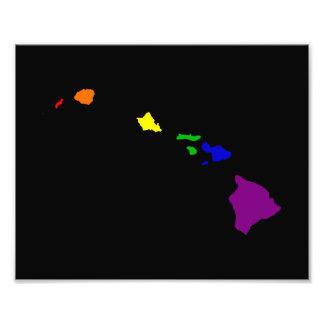 Rainbow Hawaii Photo Print