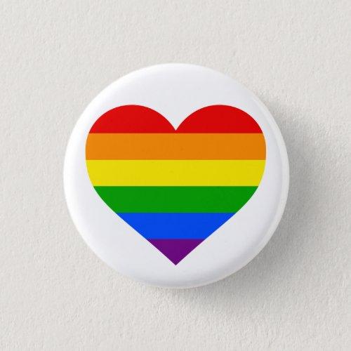 RAINBOW HEART 125_inch Button