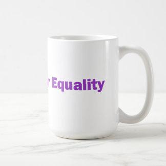 Rainbow Heart + Ally for Equality Mug