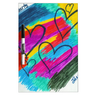 Rainbow heART Collection Dry-Erase Board