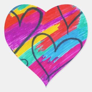 Rainbow heART Collection Sticker