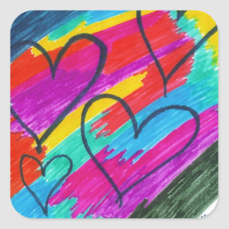 Rainbow heART Collection Stickers