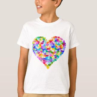 Rainbow Heart Confetti T-Shirt