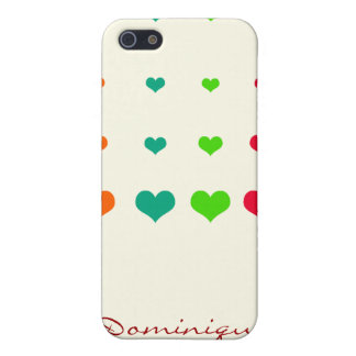 Rainbow Heart Cover For iPhone 5