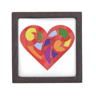 Rainbow Heart Gift Box Premium Trinket Box