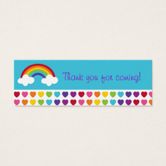 Tag cloud business cards templates zazzle rainbow heart goodie bag tags gift tags pronofoot35fo Images