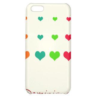 Rainbow Heart iPhone 5C Cover