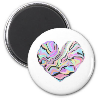 Rainbow Heart Magnet