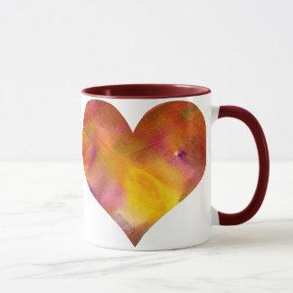 Rainbow - Heart - Mug