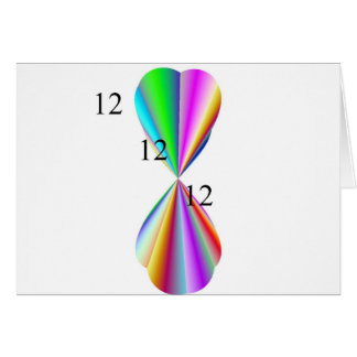 Rainbow Heart Paper Products Card