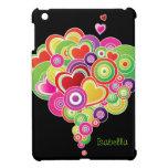 Rainbow Heart Pattern iPad Mini Cases