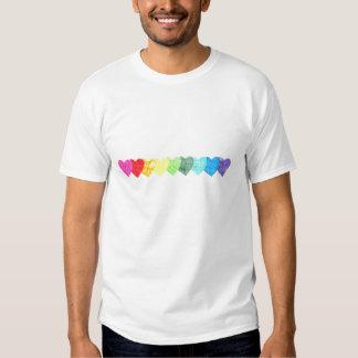 Rainbow Heart Shirt (non-faded)