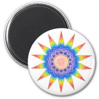 Rainbow Heart Star Fridge Magnets