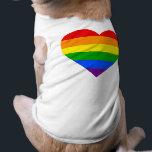 "&quot;RAINBOW HEART&quot; T-Shirt<br><div class=""desc"">&quot;RAINBOW HEART&quot; PET CLOTHING</div>"