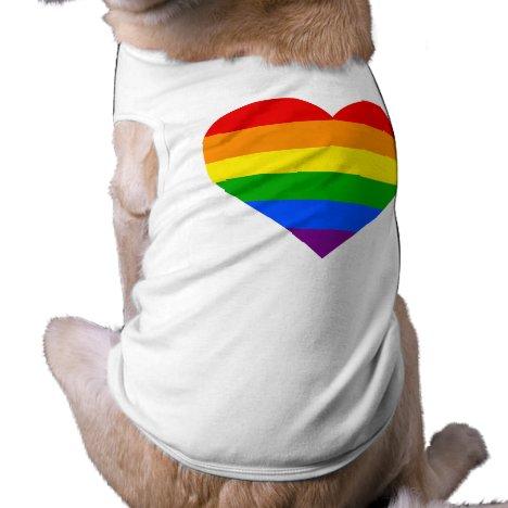 """RAINBOW HEART"" T-Shirt"