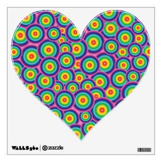 Rainbow Heart Wall Sticker