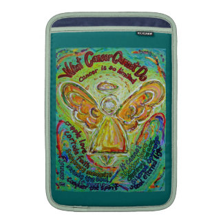 Rainbow Hearts Cancer Cannot Do Angel iPad Sleeve