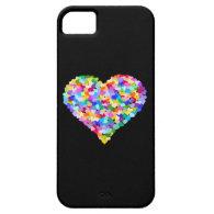 Rainbow Hearts Confetti iPhone 5 Covers