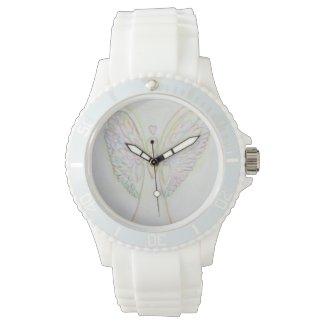Rainbow Hearts Guardian Angel Custom Watch Design