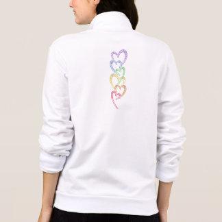 Rainbow Hearts Jacket