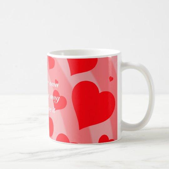 Rainbow Hearts Mug (light)