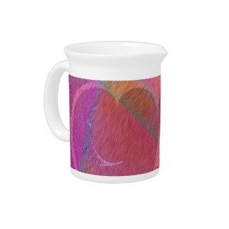 Rainbow Hearts Drink Pitchers