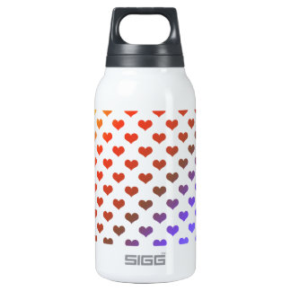 Rainbow hearts SIGG thermo 0.3L insulated bottle