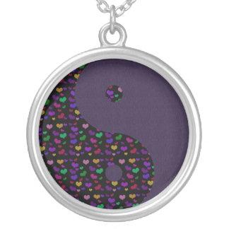 Rainbow Hearts Yin Yang Custom Jewelry