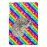 Rainbow Hedgehog iPad Mini case