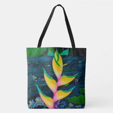 Beach Themed Rainbow Heliconia, Kauai, Hawaiian Beach Bag